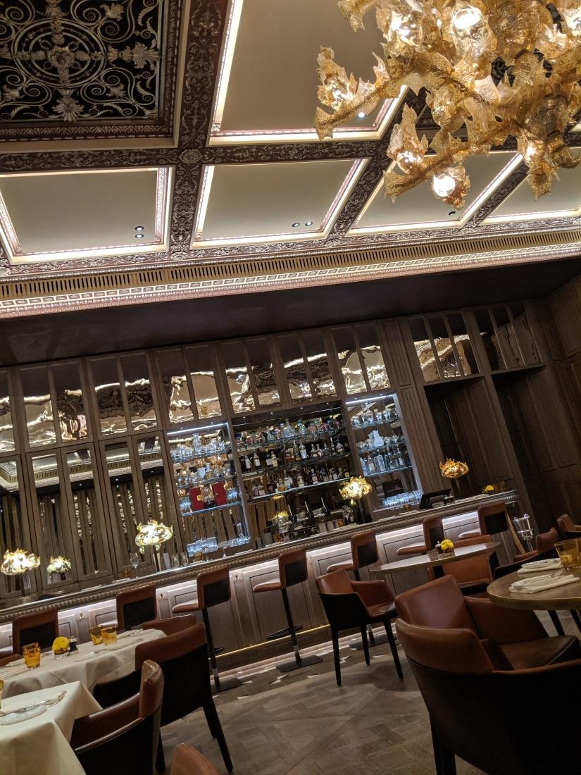opulent bar setting